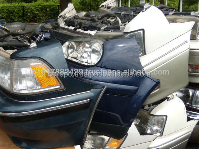 High quality secondhand japan half cut and nose cut for TOYOTA, HONDA, SUZUKI, MITSUBISHI etc