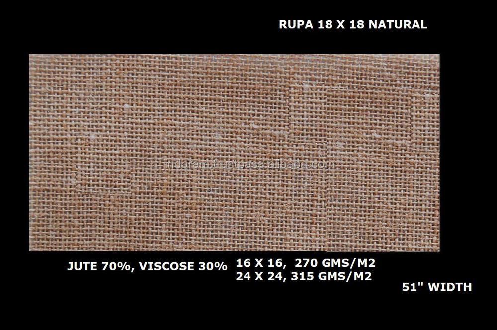 Top quality jute fabric made in India