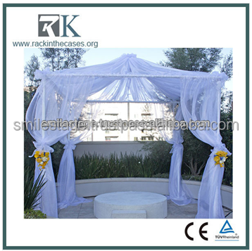 Hot sale outdoor popular used aluminum backdrop pipe and for wedding