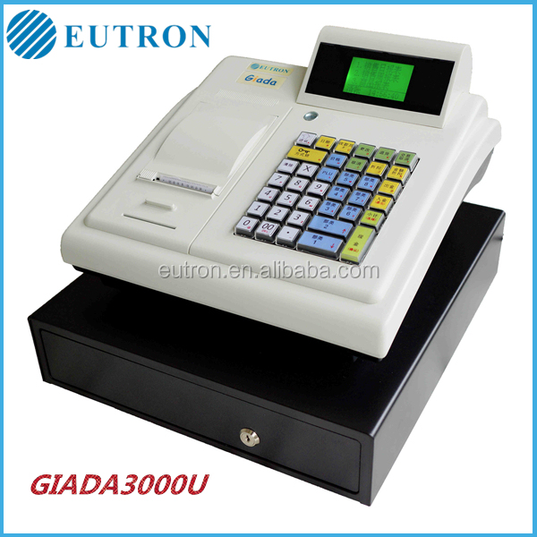 Eutron Electronic Cash Register GIADA-3000U with retail software