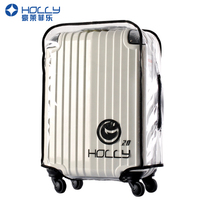 """HOLLY"" Transparant PVC Luggage Cover(20-32inch)"