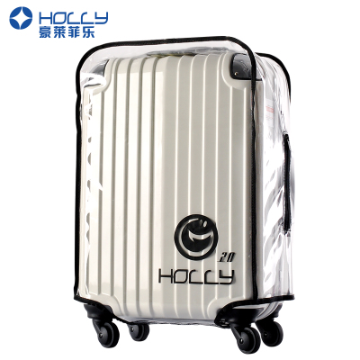 "Waterproof ""HOLLY"" Transparant PVC Luggage Cover(20-32inch)"