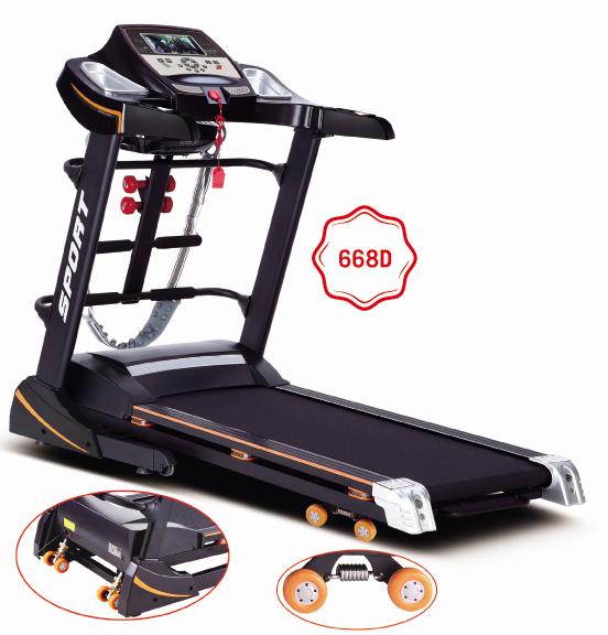 Hoist Gym Equipment Dubai: Mini Home Gym Treadmill Fitness Equipment