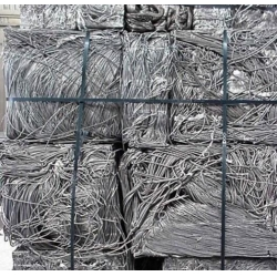 Aluminum wire scrap with Aluminum content of 95%, 99%, 99.7%, 99.9%