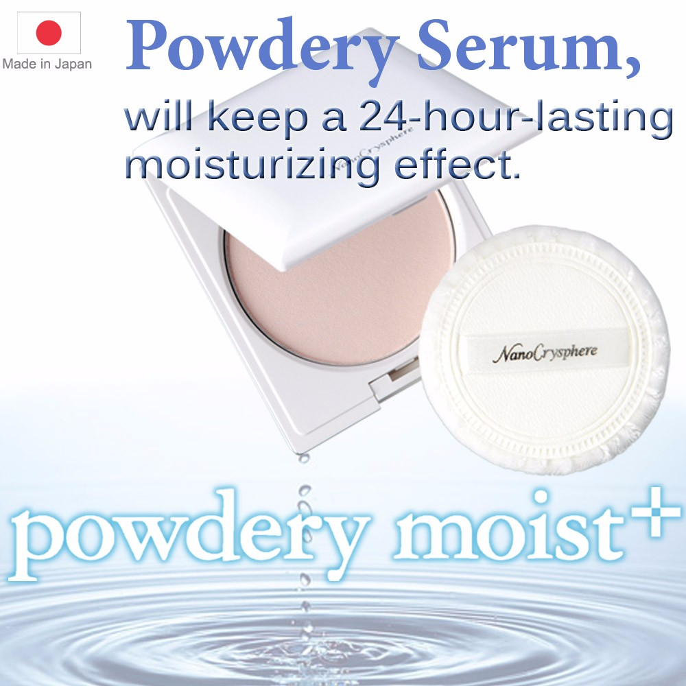 """Not Liquid, But Powder"", Safety cosmetic for correction of pore powdery serum with high beauty effect made in Japan"