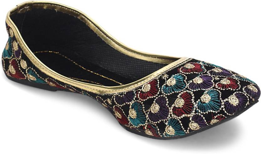 Handmade Embroidery regular Wear Women Jutti punjabi jutti nagra mojari women shoes
