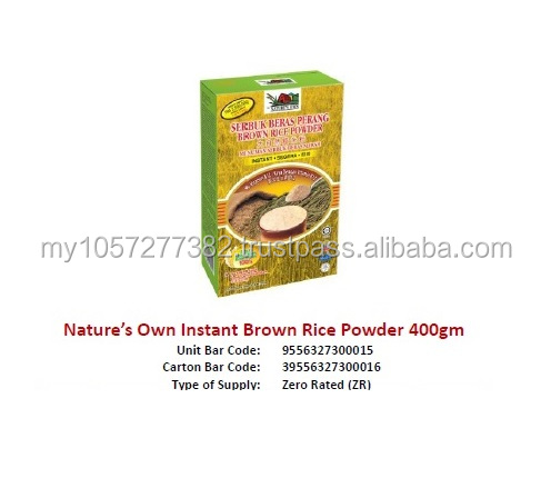 Nature's Own Instant Brown Rice Powder 400gm