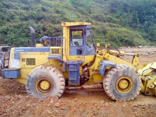 Used loader Japanese Komatsu second hand wheel loader good work condition