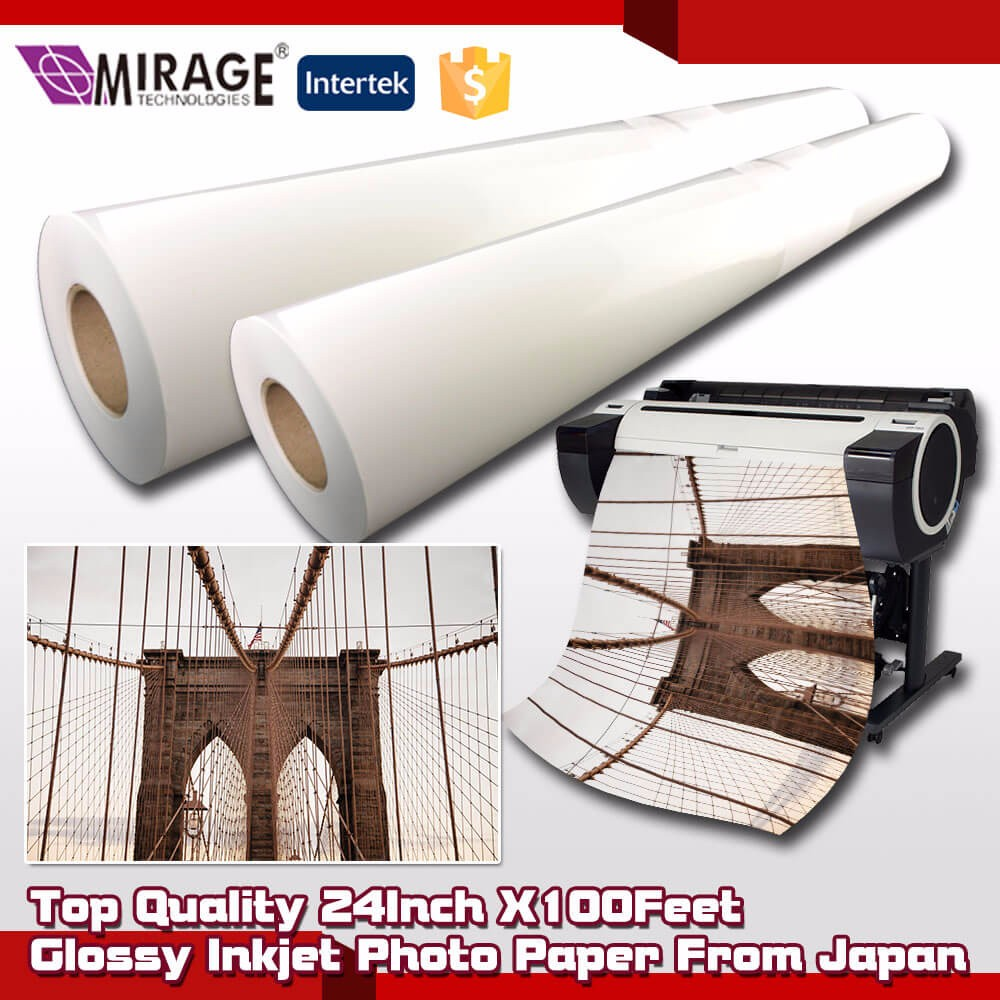 Top Semi Glossy Large RC Fuji Photo Paper From Japan