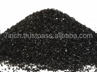 Activated carbon for absorbing petroleum products and improvement of agricultural land