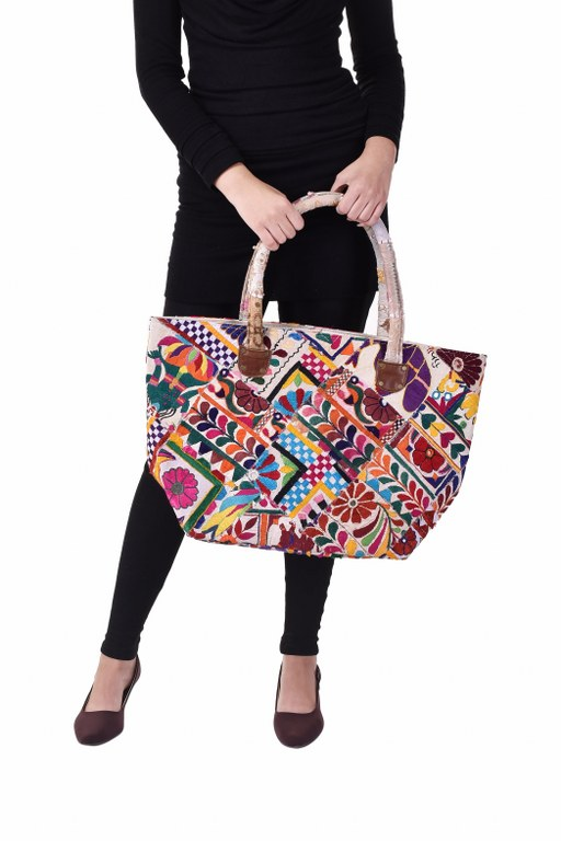 Indian Decorative Vintage Handbags Hobo Tote Embroidered Handmade Women Hand Purse