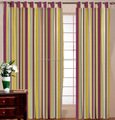 NEW DELUXE COTTON CURTAIN / BEAUTIFUL COTTON STRIPE CURTAIN