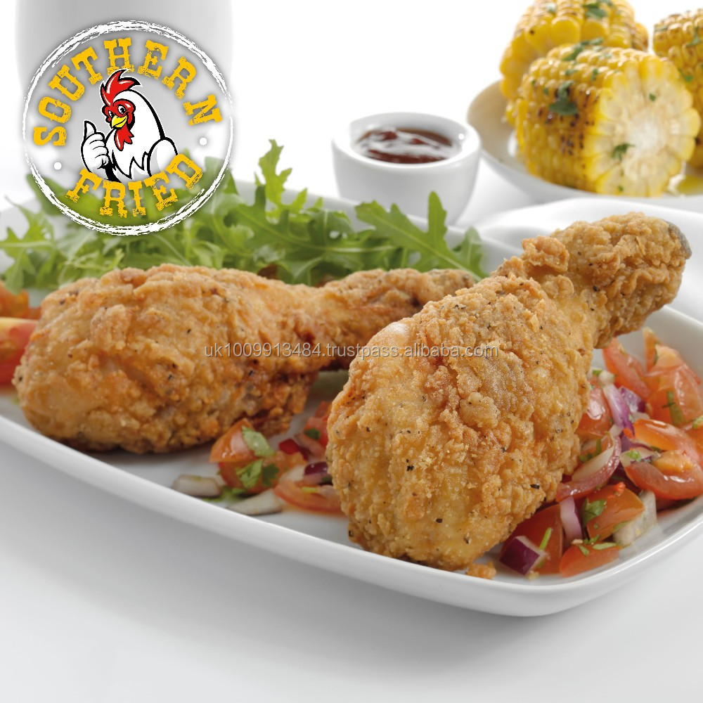 Halal Frozen Southern Fried Chicken Drumsticks (Breaded)