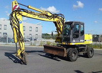 USED MACHINERIES - FURUKAWA 725 WHEEL EXCAVATOR (4719)