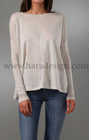boat neck tops in long sleeves