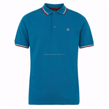 PPS-301005 100% Polyester Pique Short Sleeves Custom Polo Shirt