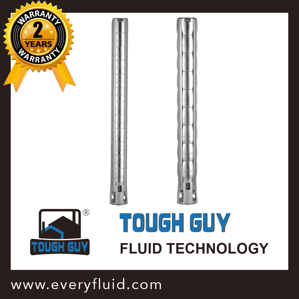 6 inch All Stainless Steel Submersible Bore Pump - Tough Guy 6SD series