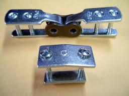 The Whale Belt Lacing Co., Ltd. adjustable in length perforated V belt. Made in Japan (link belt)