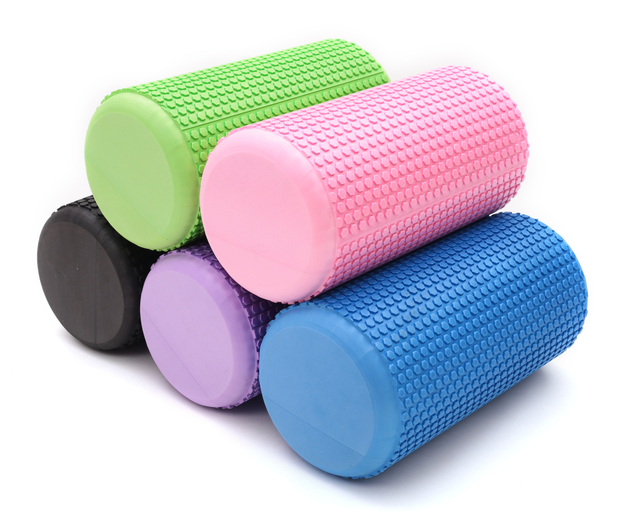 High Density EVA Solid Yoga Foam Roller for Muscle Therapy
