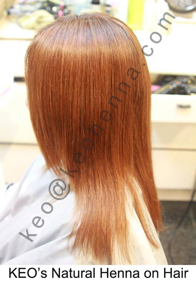Pure Henna Dye Human Hair Color