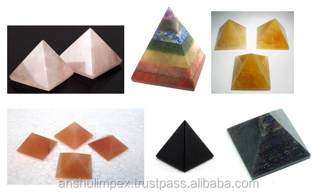 Rose Quartz Natural Conical Pyramid