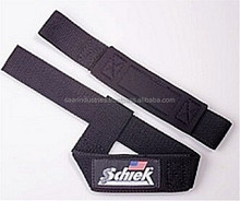 Cotton weight lifting straps with padding