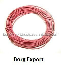 6mm Flat Leather Cord From BORG EXPORT / Flat Leather Cord 6 mm