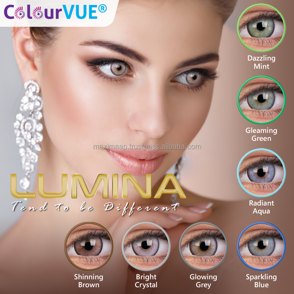 Lumina Soft Circle Lenses by ColourVUE Malaysia Supplier