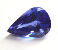 4x5 MM Pear cut faceted Natural blue Tanzanite Loose Gemstone for jewelry