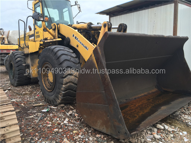 used kawasaki wheel loader for sale, used japan kawasaki 85z 80z wheel loader
