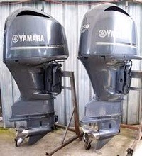 Free Shipping For Used Yamaha 30 HP 4 Stroke Outboard Motor Engine