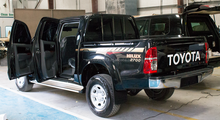 B6 Armored Hilux Double Cab Pickup