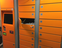 Intelligent locker for laptop and other devices management