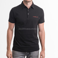 Custom embroidered logo best selling products cheap black polo shirts