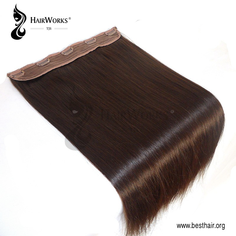 Luxury the highest quality Heavy 100% virgin Remy human hair clip in hair extensions
