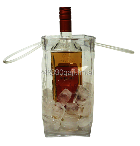 PVC vinyl cooler bag for bottle/ Ice bag