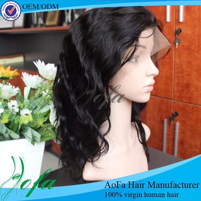 Beyond beauty supplier Cheap human hair full lace wig in dubai