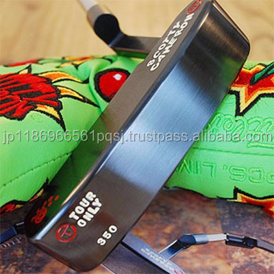 Carbon steel unique Scotty Cameron putter covers for pro use