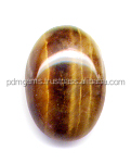 Tiger Eye Oval Smooth Cabochon Color Gemstone From India