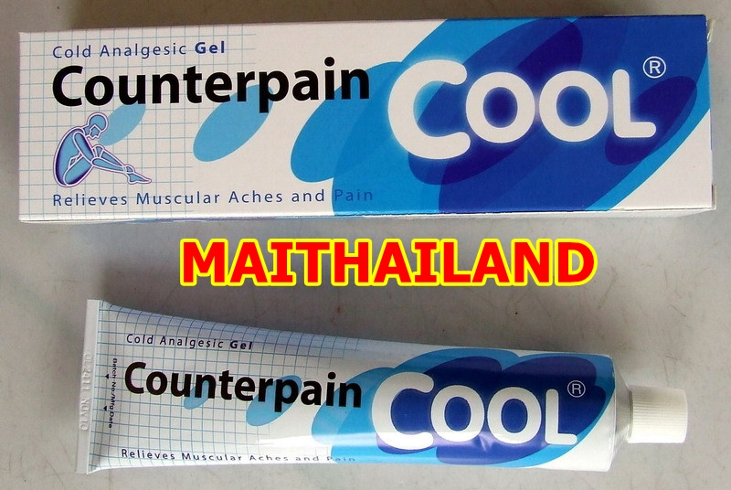 Pain Relief Cream COUNTERPAIN Cream 120g COOL Analgesic Balm Muscle Pain Cream