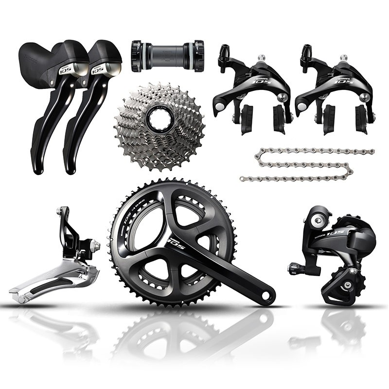 Free delivery 105 5800 11 Speed Road Bike Groupset 2017