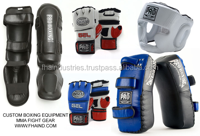 Custom Boxing Equipment / MMA Figh Gear / Sporting Goods By FHA INDUSTRIES SIALKOT PAKISTAN