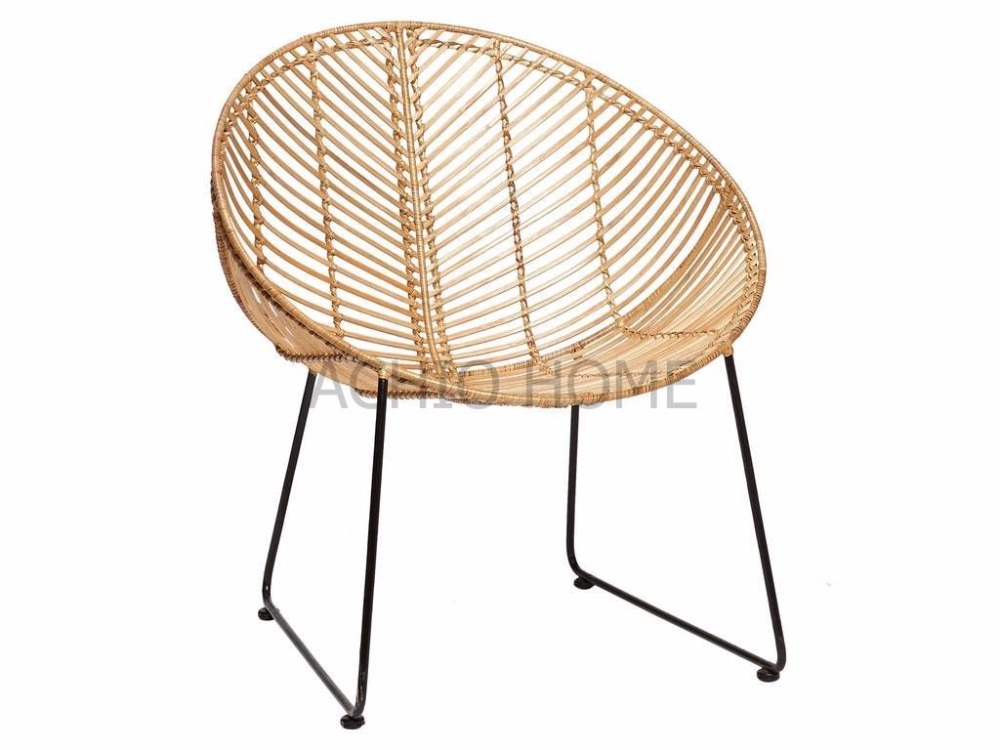 New design armrest rattan chair, lounge chair, indoor chair