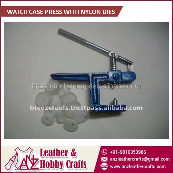 Watch Case Press With Nylon Dies Available from Leading Brand