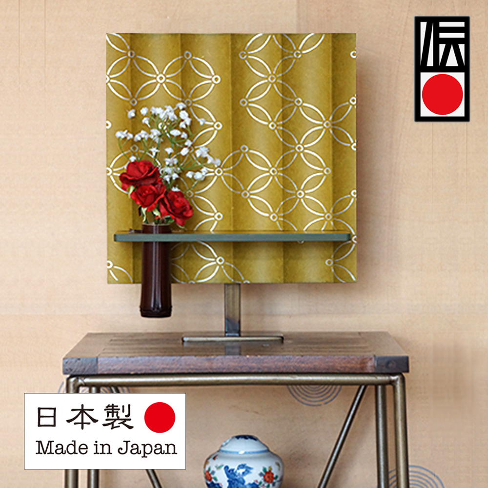 High quality 3d wall panel WASHI paper product with Japanese handcraft made in Japan