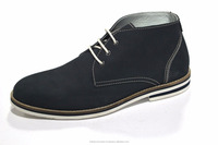 men ankle leather shoes