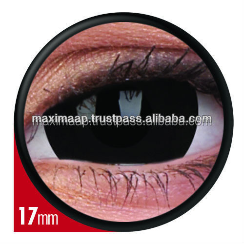 BLACKOUT 17 MM COLOURVUE ONE YEAR DISPOSABLE COLOR CONTACT LENS