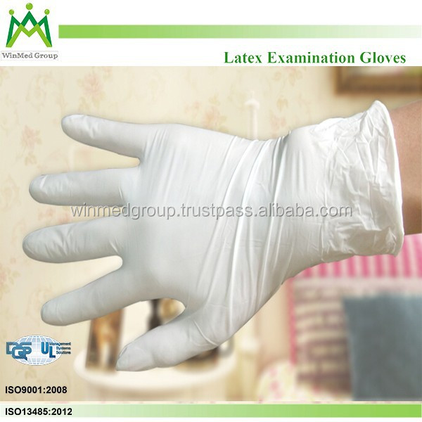 Latex Coated Lab Protective Safety Gloves