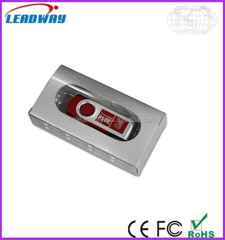 wholesale bulk USB 2.0 Swivel USB Flash Drive, Twister pendrive usb