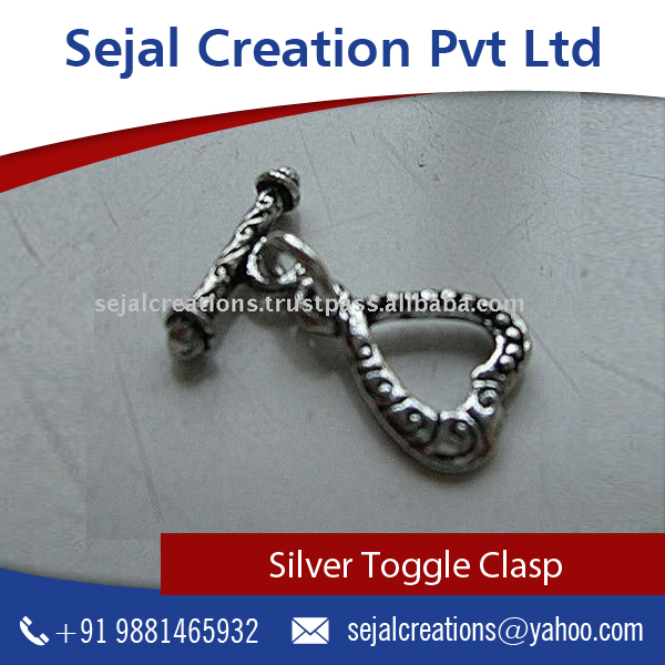 Latest Trendy Ethnic Style Silver Clasps , Sterling Silver Jewelry from Top Brand